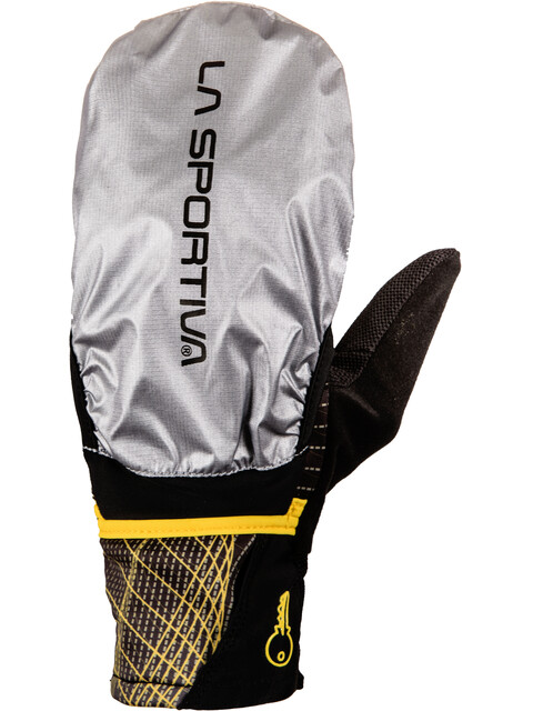 La Sportiva Trail Gloves Men Black/Yellow
